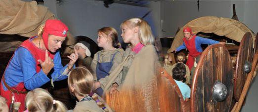 Vikingen op het Valkhof