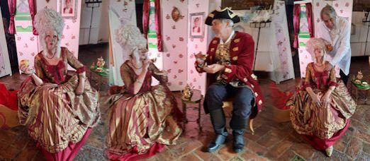 Op 13 september Prinses Serpenta op kasteel Doornenburg
